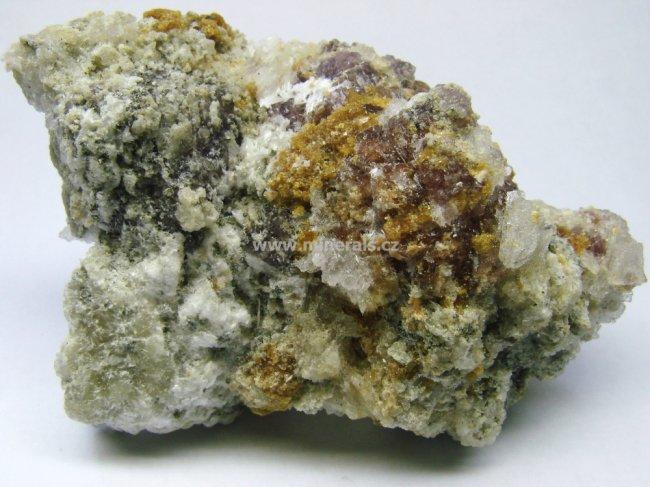 Minerál COQUIMBIT, COPIAPIT