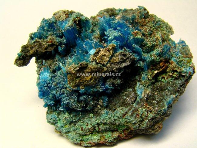 Minerál CHALKANTIT
