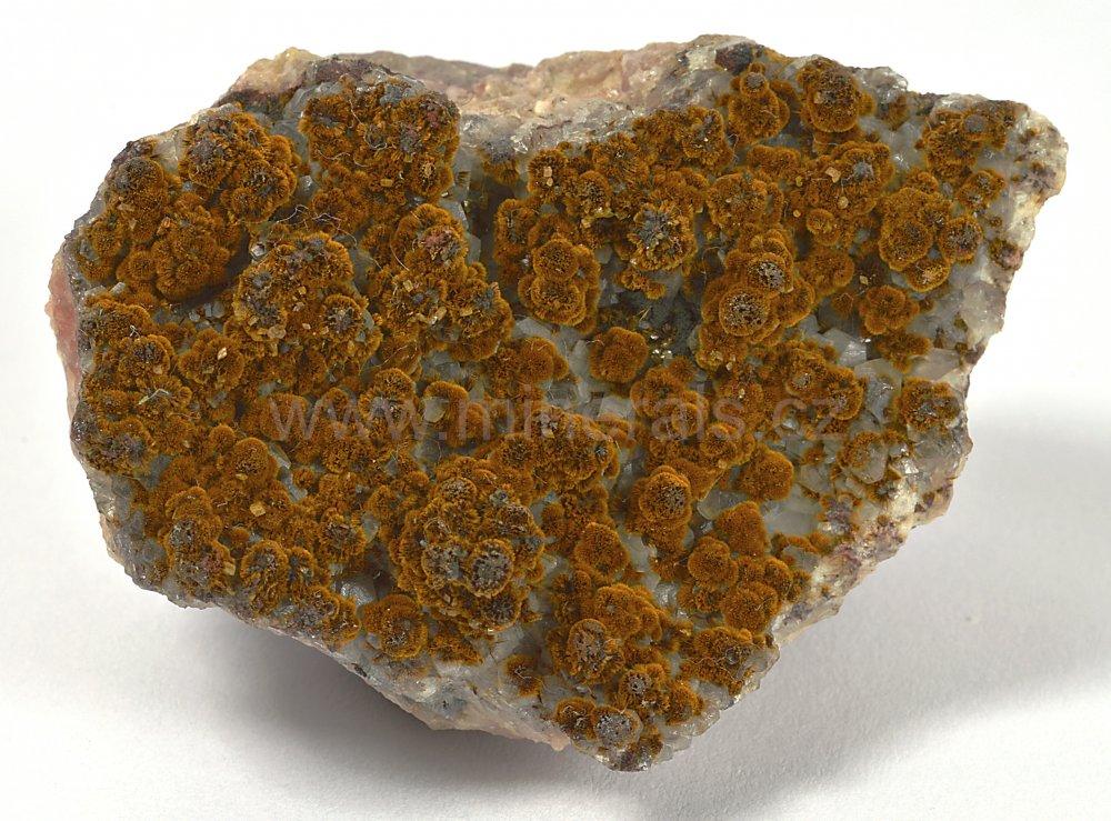 Minerál GOETHIT - SAMETKA