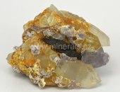 Minerál FERBERIT, FLUORIT