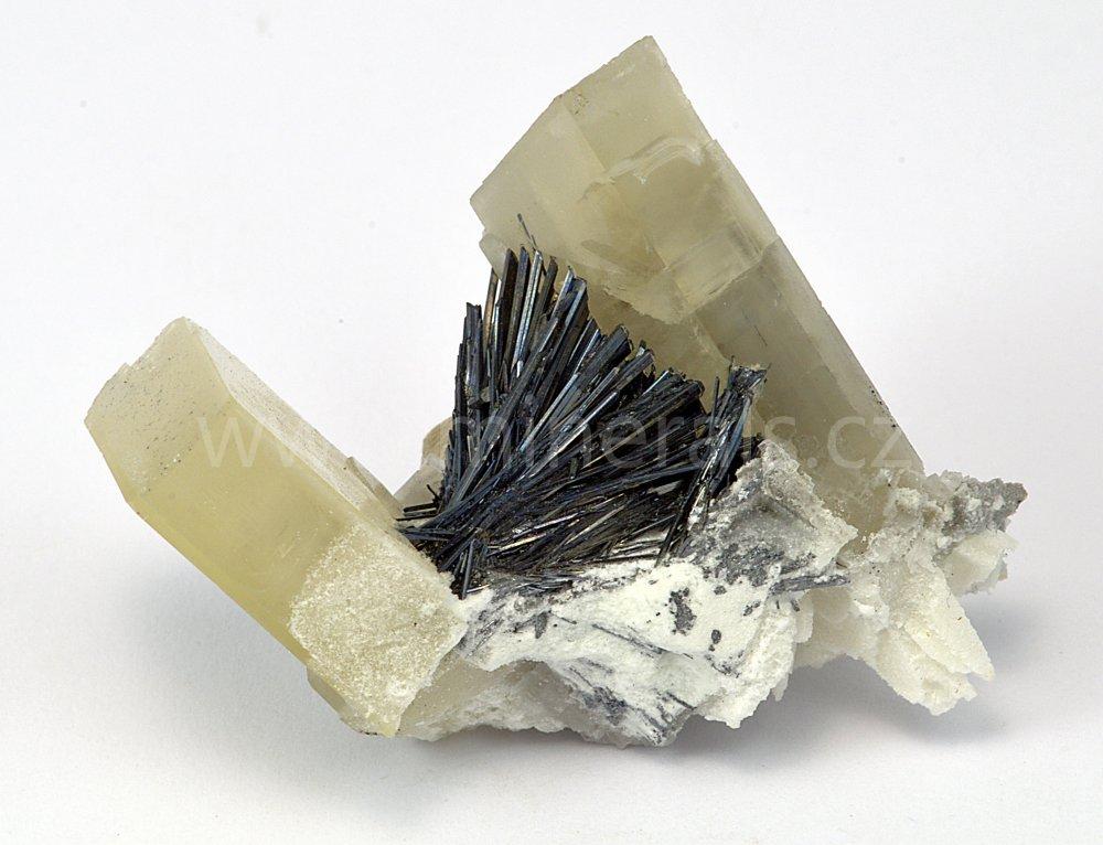 Minerál BARYT, ANTIMONIT