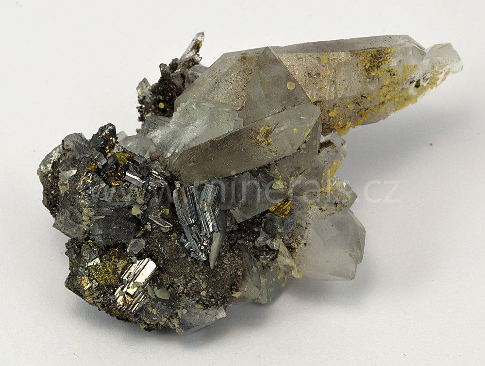 Minerál BOURNONIT, FLUORIT