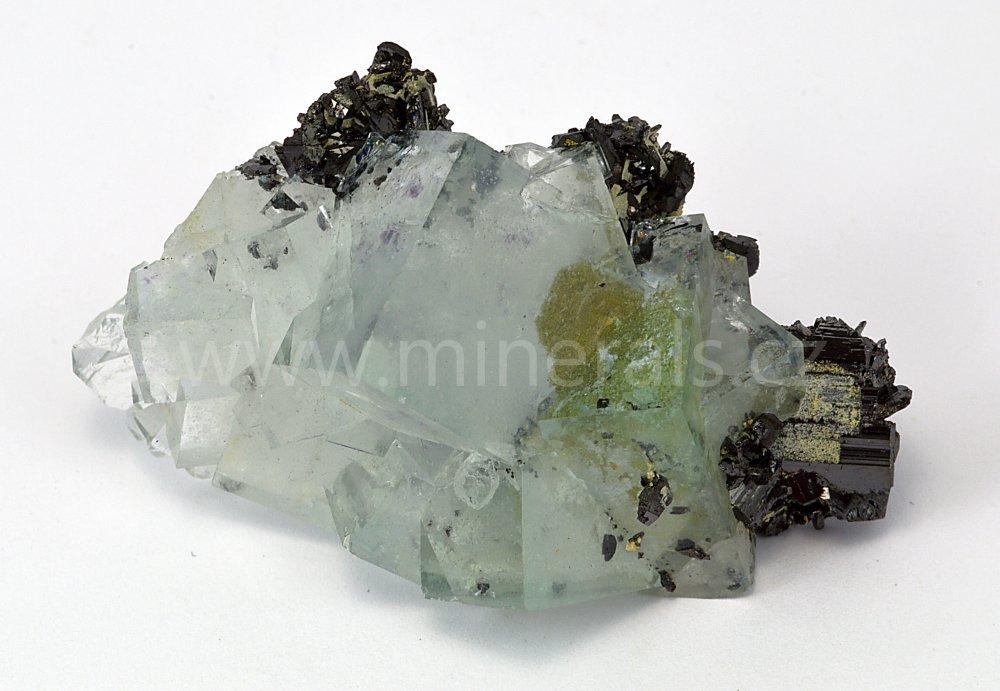 Minerál FLUORIT, FERBERIT