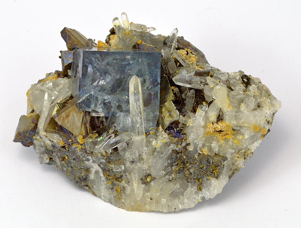 Minerál FLUORIT, JAMESONIT