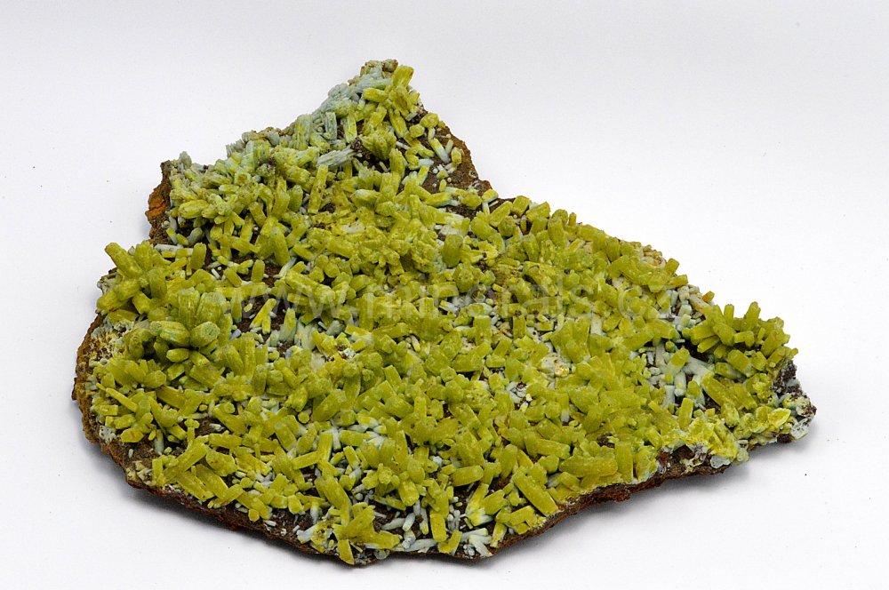 Minerál PYROMORFIT, PLUMBOGUMMIT