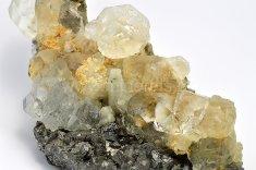 Minerál FLUORIT, ARZENOPYRIT