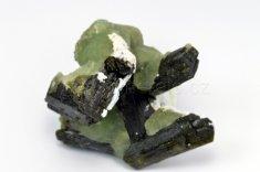 Minerál PREHNIT, EPIDOT