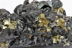 Minerál SFALERIT, PYRIT
