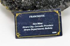 Minerál FRANCKEIT